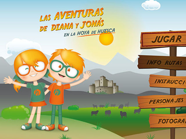 Pantallazo App Diana y Jonás