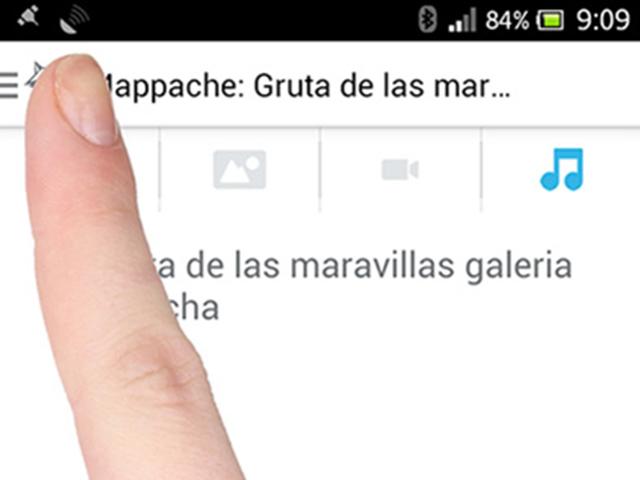 Pantalla de la App Mappache Ibdes