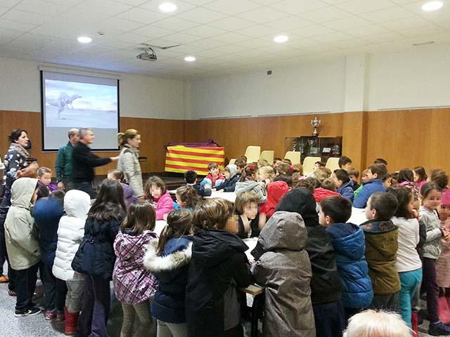 Charla para niños colegio Montecanal