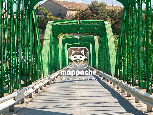 Portada en puente Zaragoza