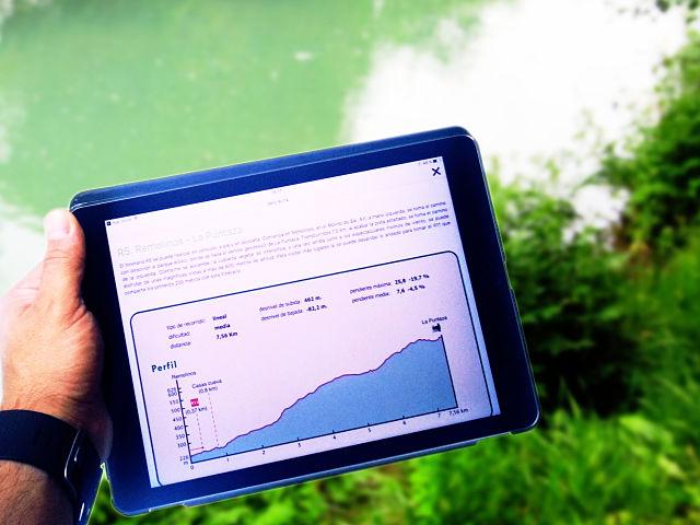 Explicación en tablet