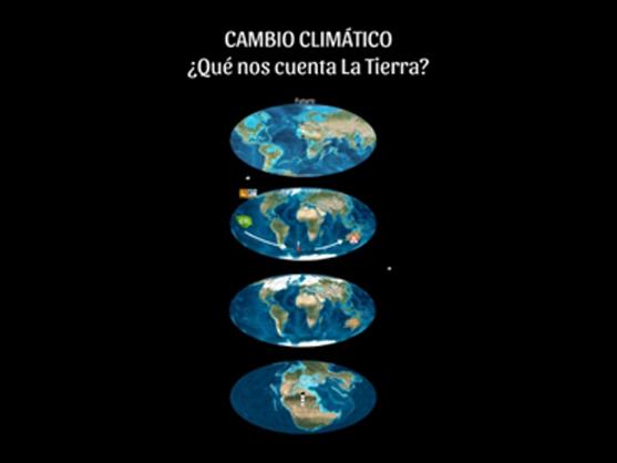 Imagen de la presentación sobre cambio climático realizada en un taller de formación de ATADES en Zaragoza
